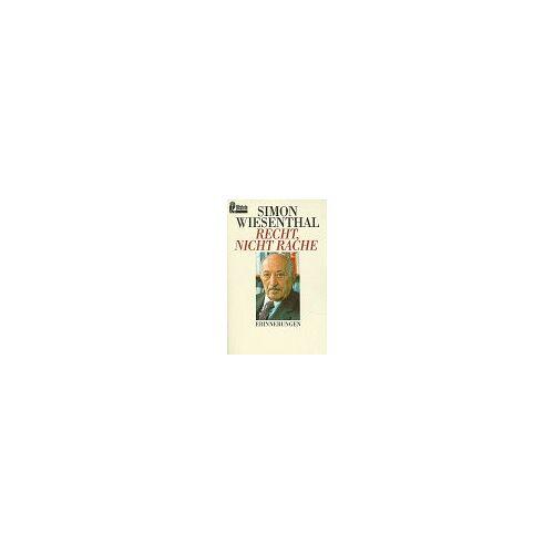 Simon Wiesenthal - Recht, nicht Rache - Preis vom 22.04.2021 04:50:21 h