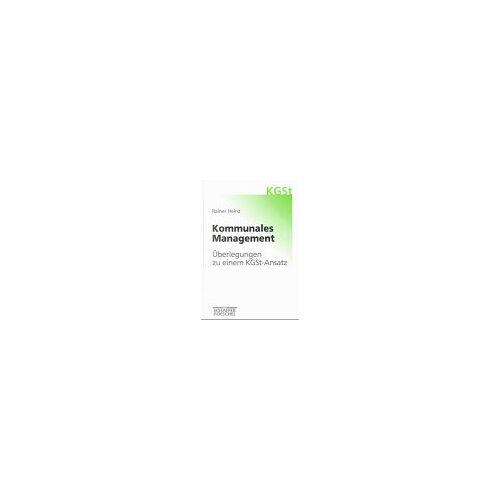 Rainer Heinz - Kommunales Management - Preis vom 16.05.2021 04:43:40 h