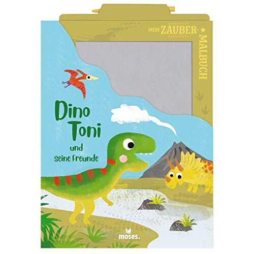 Anja Dreier-Brückner - Mein Zaubermalbuch - Dino Toni und seine Freunde - Preis vom 18.04.2021 04:52:10 h