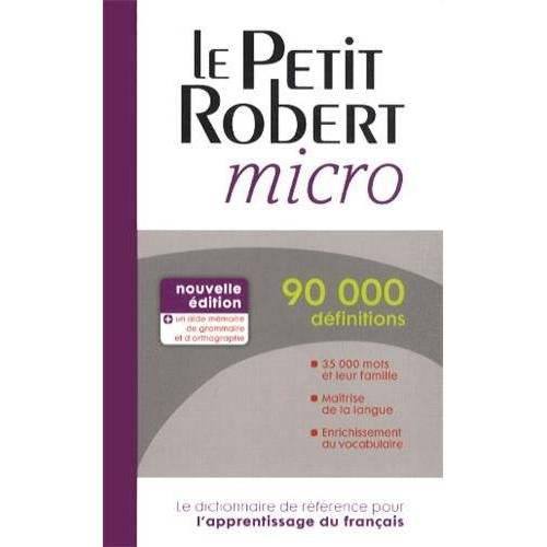 Paul Robert - Le petit Robert micro - Preis vom 11.04.2021 04:47:53 h