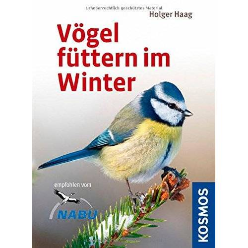 Holger Haag - Vögel füttern am Fenster: Das Futterhäuschen-Set: Buch, Holzhäuschen fürs Fenster, Vogelfutter - Preis vom 08.05.2021 04:52:27 h