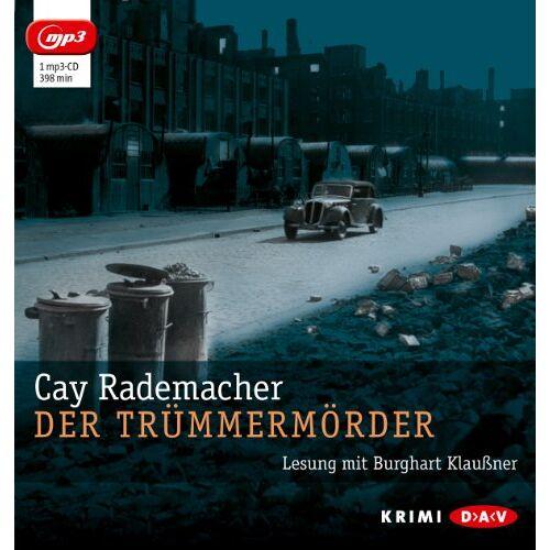 Cay Rademacher - Der Trümmermörder (mp3-Ausgabe): 1 mp3-CD - Preis vom 02.06.2020 05:03:09 h