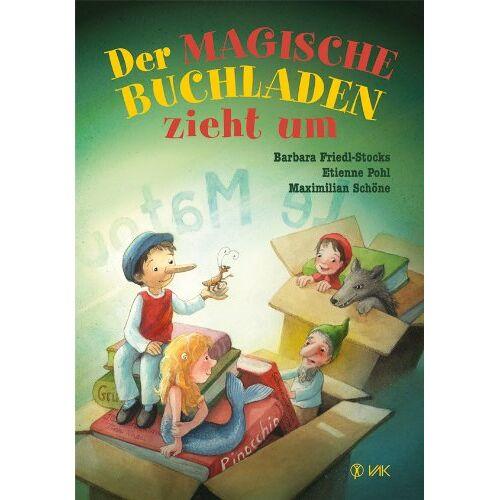Barbara Friedl-Stocks - Der magische Buchladen zieht um - Preis vom 07.05.2021 04:52:30 h