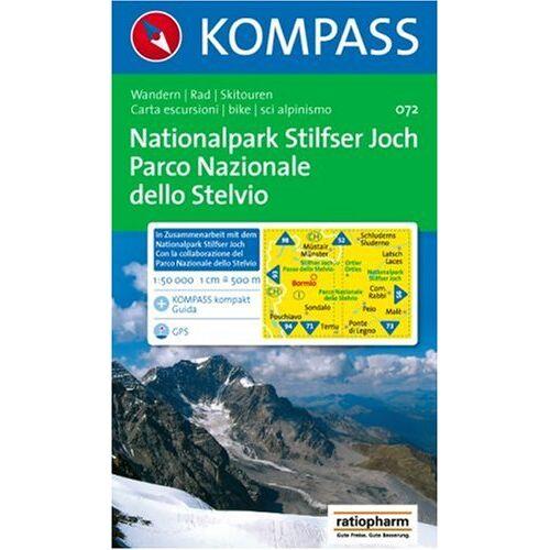 - Nationalpark Stilfserjoch / Parco Nazionale dello Stelvio 1 : 50 000: Wanderkarte mit Kurzführer, Radrouten und Skitouren. GPS-geeignet - Preis vom 17.04.2021 04:51:59 h