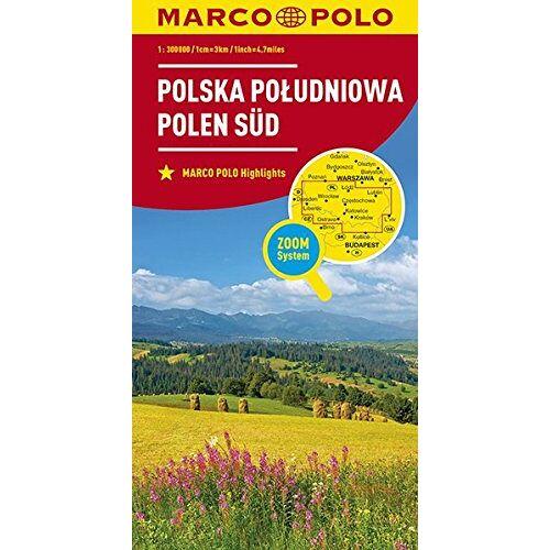 - MARCO POLO Karte Polen Süd 1:300 000 (MARCO POLO Karten 1:300.000) - Preis vom 19.02.2020 05:56:11 h