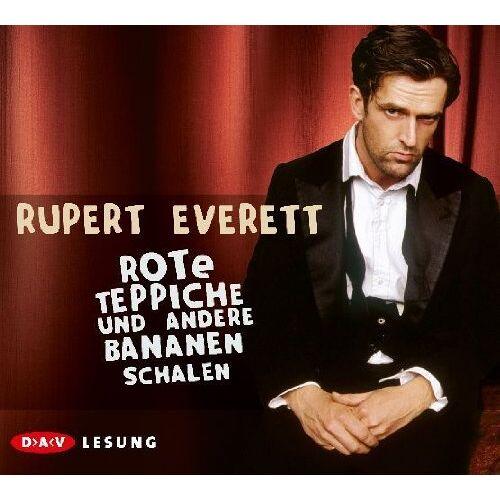 Rupert Everett - Rote Teppiche und andere Bananenschalen, 4 Audio-CDs - Preis vom 20.10.2020 04:55:35 h
