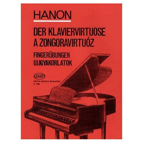 - Der Klaviervirtuose 60 Fingeruebungen. Klavier - Preis vom 12.04.2021 04:50:28 h