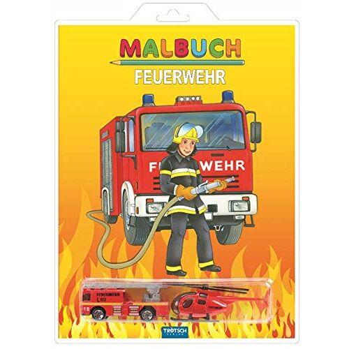 Trötsch Verlag GmbH & Co. KG - Malbuch Feuerwehr: mit 2 Spielzeugen (Malbücher mit ..., Band 2) - Preis vom 18.01.2020 06:00:44 h