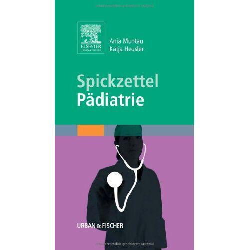 - Spickzettel Pädiatrie - Preis vom 03.05.2021 04:57:00 h
