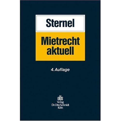Friedemann Sternel - Mietrecht aktuell - Preis vom 09.05.2021 04:52:39 h