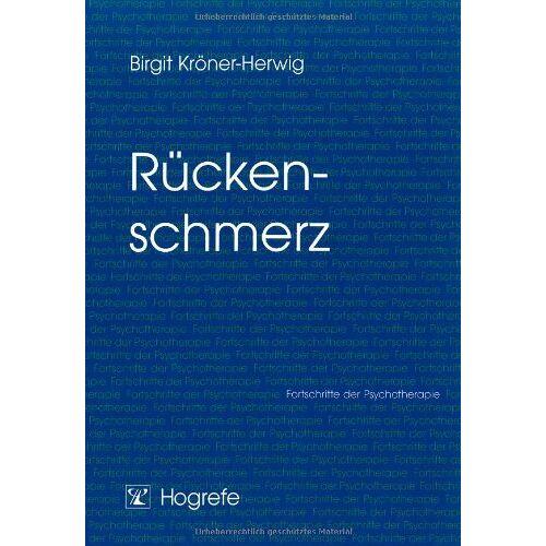 Birgit Kröner-Herwig - Rückenschmerzen - Preis vom 25.09.2020 04:48:35 h