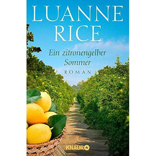 Luanne Rice - Ein zitronengelber Sommer: Roman - Preis vom 12.05.2021 04:50:50 h