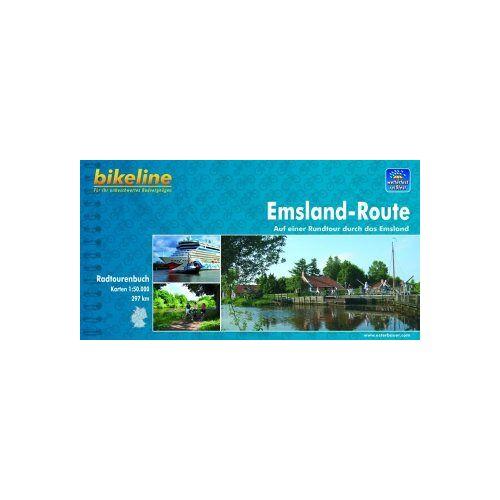 Esterbauer - Emsland-Route: Auf einer Rundtour durch das Emsland. wetterfest und reißfest - Preis vom 03.12.2020 05:57:36 h