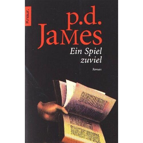 James, P. D. - Ein Spiel zuviel - Preis vom 26.02.2021 06:01:53 h