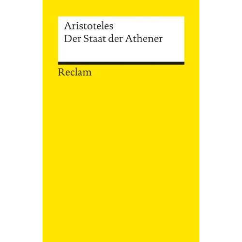 Aristoteles - Der Staat der Athener - Preis vom 11.05.2021 04:49:30 h