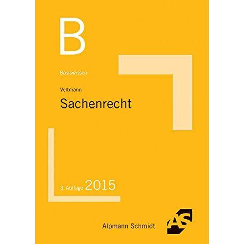 Till Veltmann - Basiswissen Sachenrecht - Preis vom 20.10.2020 04:55:35 h
