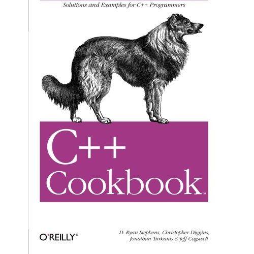 Stephens, D. Ryan - C++ Cookbook (Cookbooks (O'Reilly)) - Preis vom 31.03.2020 04:56:10 h