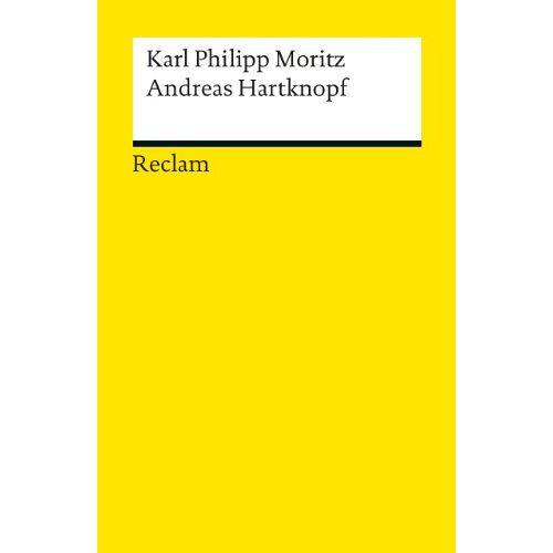 Moritz, Karl Philipp - Andreas Hartknopf. Eine Allegorie / Andreas Hartknopfs Predigerjahre - Preis vom 27.11.2020 05:57:48 h