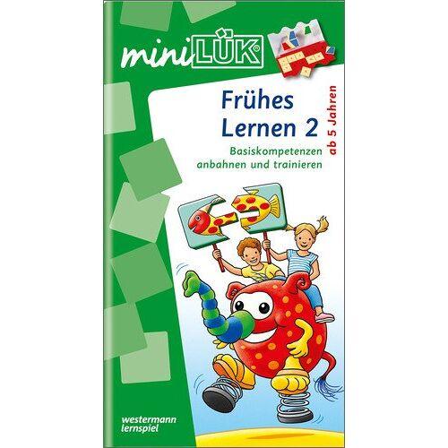 Michael Junga - miniLÜK: Kindergarten / Vorschule / Frühes Lernen 2: Basiskompetenzen anbahnen und trainieren - Preis vom 08.05.2021 04:52:27 h