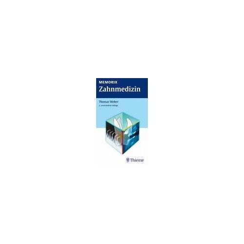 Weber Memorix Zahnmedizin - Preis vom 24.11.2020 06:02:10 h