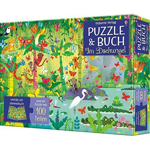 - Puzzle & Buch: Im Dschungel (Puzzle) - Preis vom 12.05.2021 04:50:50 h