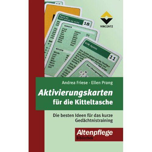 Andrea Friese - Aktivierungskarten für die Kitteltasche - Preis vom 18.02.2020 05:58:08 h