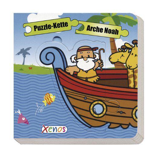 - Puzzle-Kette - Arche Noah: mit 5 großen Puzzleteilen - Preis vom 25.02.2021 06:08:03 h