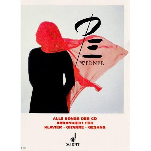 - Pe Werner: Alle Songs der CD. Klavier, Gitarre und Gesang. Songbook. - Preis vom 09.05.2021 04:52:39 h