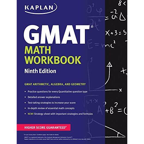 Kaplan - Kaplan GMAT Math Workbook (Kaplan Test Prep) - Preis vom 13.05.2021 04:51:36 h