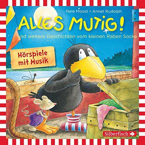 Nele Moost - Alles mutig!: und weitere Geschichten vom kleinen Raben Socke: 1 CD (Kleiner Rabe Socke) - Preis vom 16.04.2021 04:54:32 h