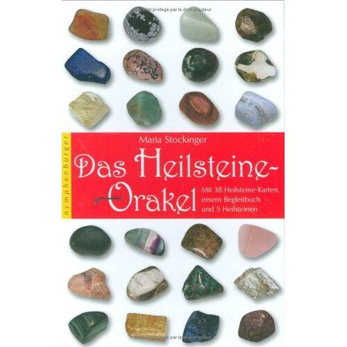 Maria Stockinger - Das Heilsteine-Orakel: Mit 38 Heilsteine-Karten, einem Begleitbuch und 5 Heilsteinen - Preis vom 22.02.2021 05:57:04 h
