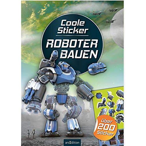 - Coole Sticker - Roboter bauen: über 200 Sticker (Mein Stickerbuch) - Preis vom 16.01.2021 06:04:45 h