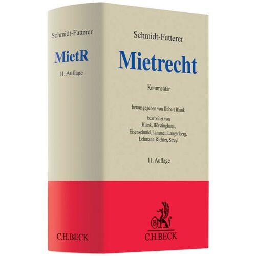 Hubert Blank - Mietrecht: Großkommentar des Wohn- und Gewerberaummietrechts - Preis vom 18.04.2021 04:52:10 h