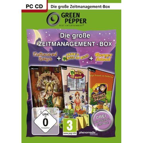 Phenomedia - Die große Zeitmanagement-Box [Green Pepper] - Preis vom 23.07.2021 04:48:01 h