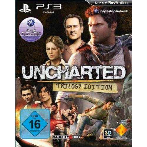 Sony Uncharted Trilogy Edition (Uncharted: Drake's Schicksal + Uncharted 2: Among Thieves + Uncharted 3: Drake's Deception) - Preis vom 19.06.2021 04:48:54 h