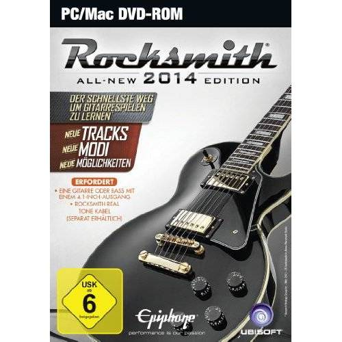 Ubisoft - Rocksmith 2014 (ohne Kabel) - Preis vom 11.06.2021 04:46:58 h