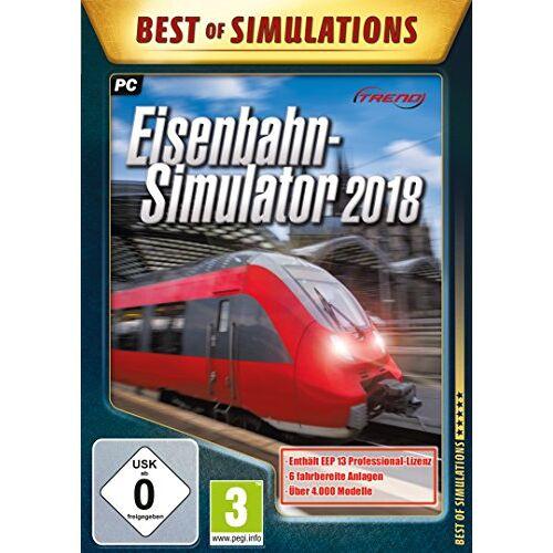 Astragon - Eisenbahn-Simulator 2018 - Preis vom 11.10.2021 04:51:43 h