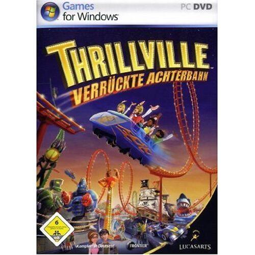 Lucas Arts - Thrillville: Verrückte Achterbahn (DVD-ROM) - Preis vom 13.06.2021 04:45:58 h