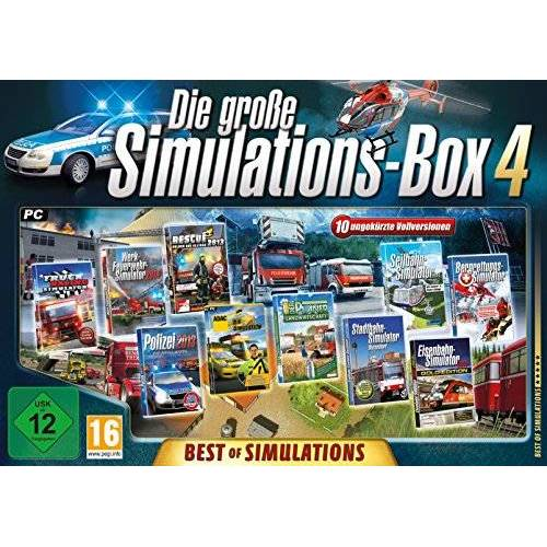 Rondomedia - Die große Simulations-Box 4: Best of Simulations - Preis vom 11.10.2021 04:51:43 h