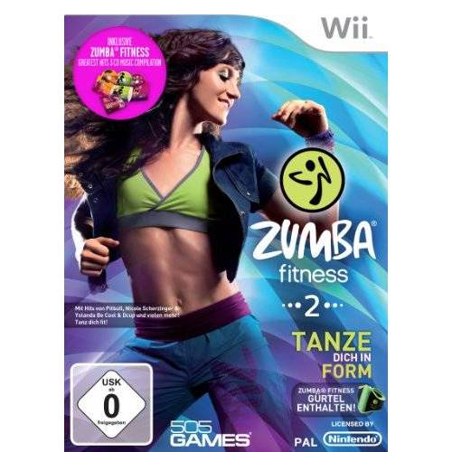 505 Games - Zumba Fitness 2 - Special Edition (inkl. Fitness-Gürtel und 3 Zumba-Fitness Musik CD's) - Preis vom 20.10.2020 04:55:35 h