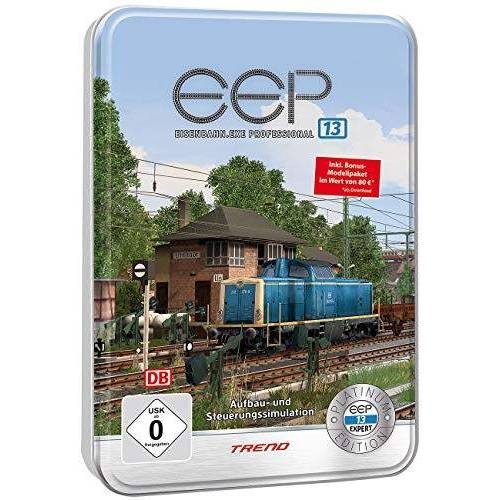 EEP - EEP Eisenbahn-Simulator: Eisenbahn.exe 13 Platinum in dekorativer Metall-Reliefbox (Eisenbahnexe) - Preis vom 16.01.2020 05:56:39 h