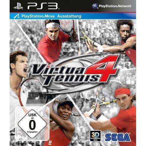 Sega - Virtua Tennis 4 (Move Unterstützung) - Preis vom 13.08.2020 04:48:24 h