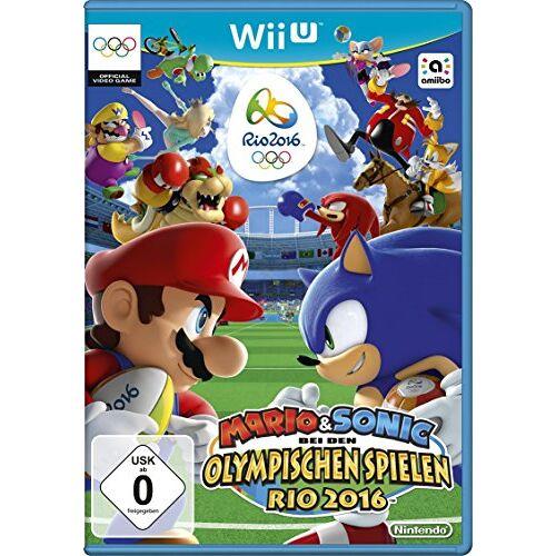 Nintendo Mario & Sonic bei den Olympischen Spielen Rio 2016 - [Wii U] - Preis vom 14.05.2021 04:51:20 h