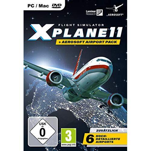 Aerosoft - XPlane 11 + Aerosoft Pack - [PC] - Preis vom 18.10.2020 04:52:00 h