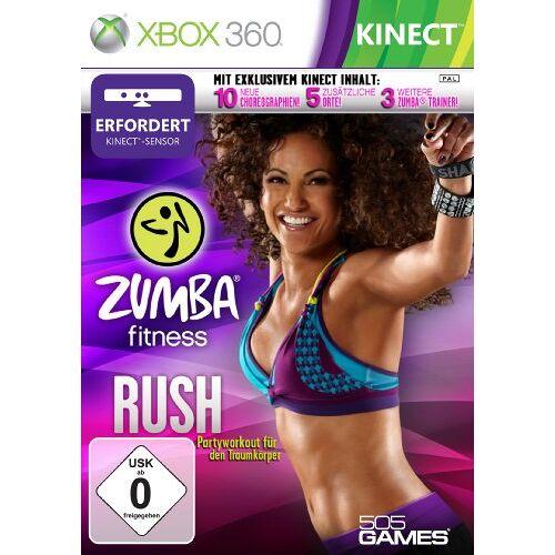 505 Games - Zumba Fitness Rush (Kinect) - Preis vom 20.10.2020 04:55:35 h