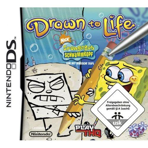 THQ - SpongeBob und der magische Stift - Drawn to Life - Preis vom 20.10.2020 04:55:35 h