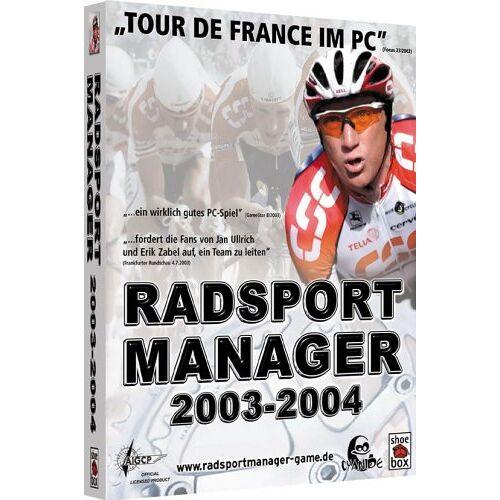 DTP - Radsport Manager 2003/2004 - Preis vom 05.05.2021 04:54:13 h