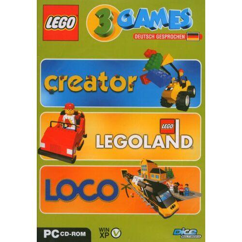 Dice - Lego 3 Games Pack (Creator / Legoland / Loco) - Preis vom 21.04.2021 04:48:01 h