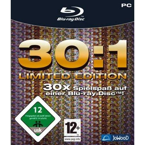 JoWood - BluRay 30:1 Collection (BluRay ROM) - Preis vom 10.04.2021 04:53:14 h