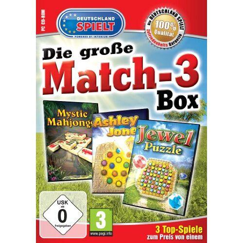Intenium - Die große Match-3 Box (Ashley Jones / Mystic Mahjong / Jewel Puzzle) - Preis vom 20.10.2020 04:55:35 h